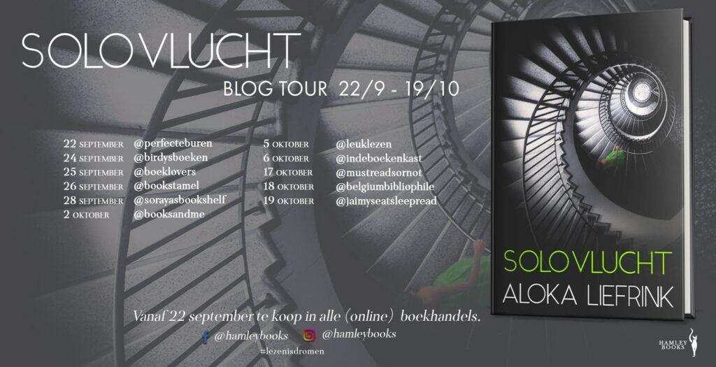 Blogtour Solovlucht Aloka Liefrink - HamleyBooks
