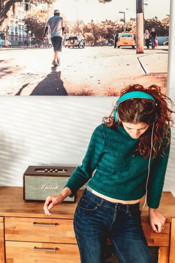 music, headphones, sound