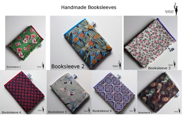 HamleyBooks Handmade Booksleeve