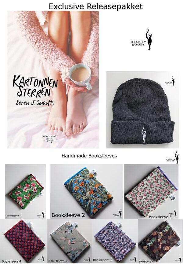 Hamleybooks ReleasePakket Kartonnen Sterren
