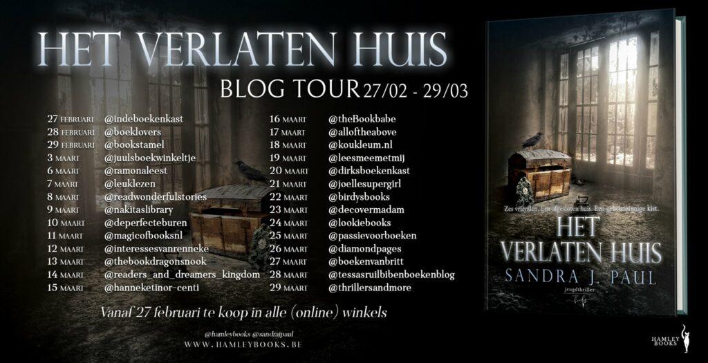 blog tour Het Verlaten Huis
