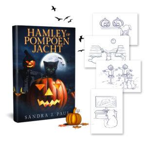 Hamley Op PompoenJacht - Sandra J Paul - HamleyBooks Exclusive