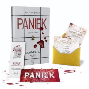 Paniek - Sandra J Paul - Hamley Books Thriller - Exclusive
